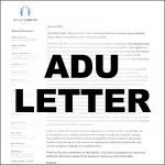 ADU'S-LETTER