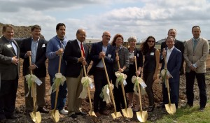 Group with Shovels